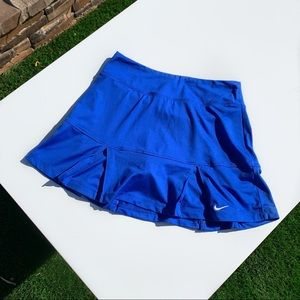 BLUE NIKE MINI TENNIS SKIRT